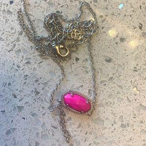 Elisa pink necklace